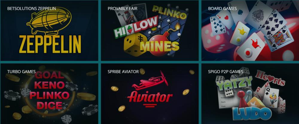 mini giochi - mini games - aviator